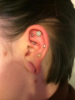 ear piercing, jewelry