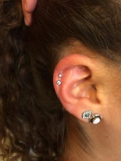 helix ear piercing, jewelry