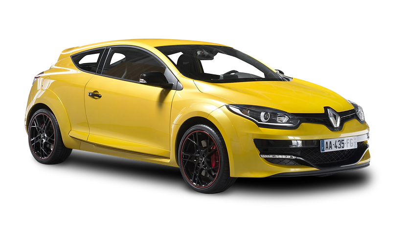 purepng.com-renault-megane-rs-yellow-car
