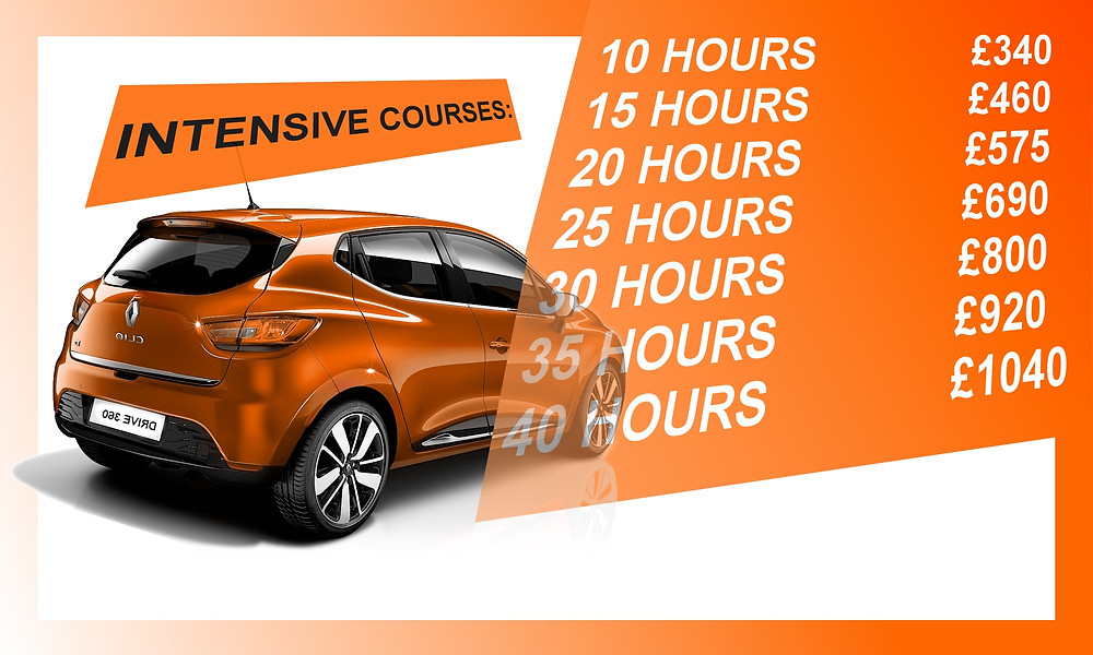 intesnive driving courses leeds