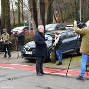 Conférence de presse extérieur 3 photo