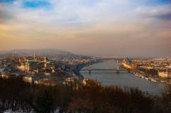 Buda - Danube - Pest - Budapest
