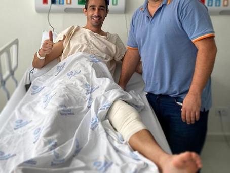 Procedimento bem sucedido - Apoio Hospital Renascentista!