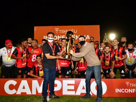 PAFC campeão da Taça Inconfidência