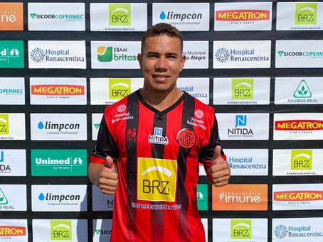 Pouso Alegre confirma a chegada de mais um atacante para a sequência do Campeonato Mineiro