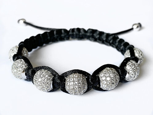 CZ Diamond Bracelet (WHT)