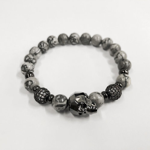 Swarovski Skull Bracelet (GMS)