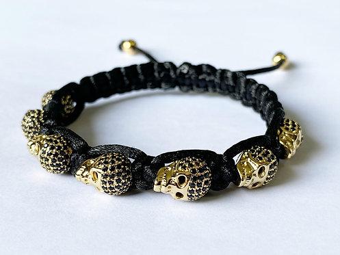CZ Diamond Skeletal Bracelet (G)