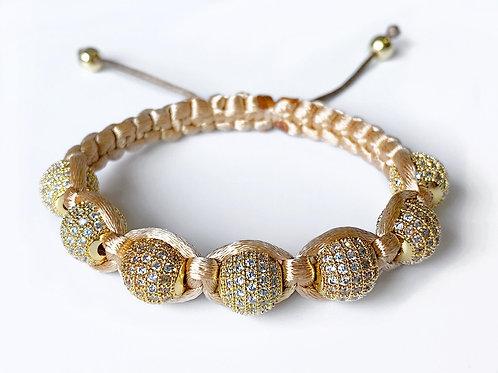 CZ Diamond Bracelet (GLD)