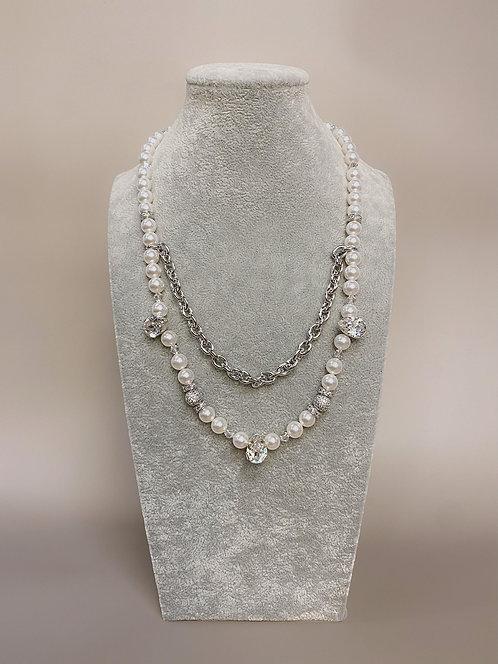 Swarovski CZ Diamond Necklace (SP)