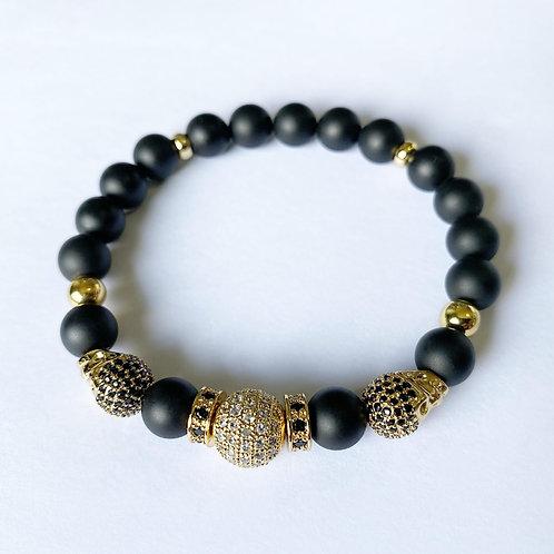 CZ Diamond Skull Bracelet (MO)