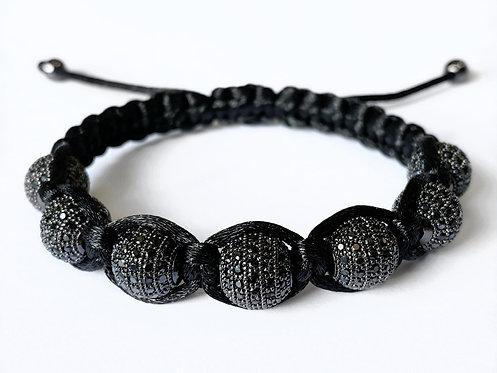 CZ Diamond Bracelet (BLK)