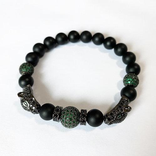 CZ Diamond Panther Bracelet (MO)