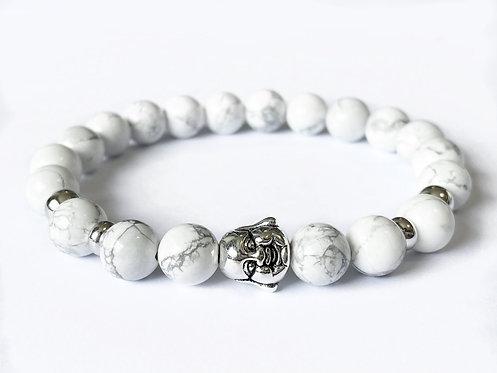 Laughing Buddha Bracelet (WH)