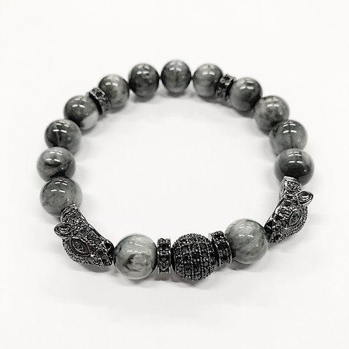 CZ Pavé Panther Bracelet (EE)