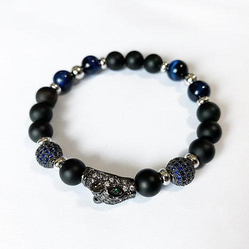 CZ Diamond Panther Bracelet (MO/BTE)