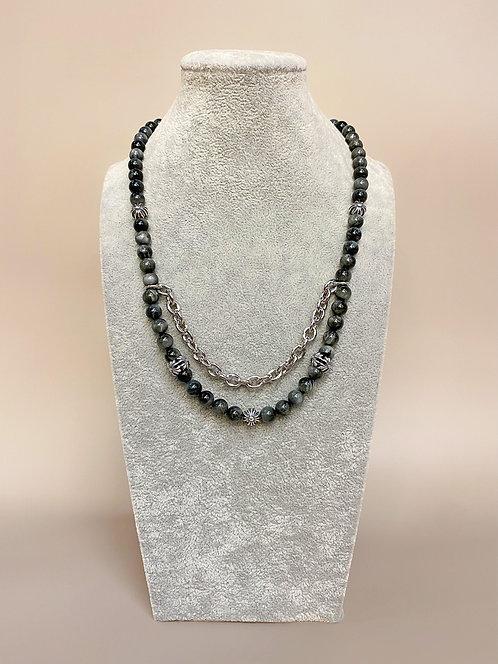 925 Silver Chrome Necklace (GTE)