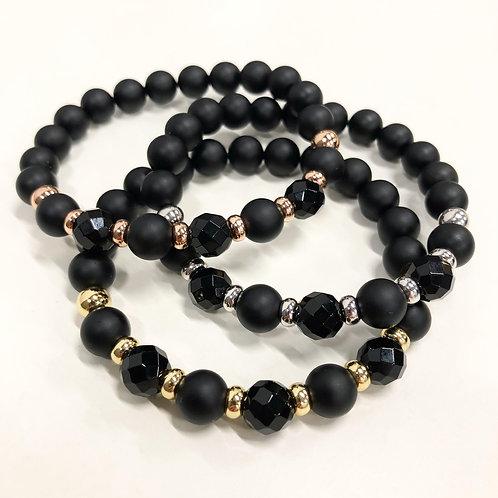 Classic Onyx Bracelets (MO/GO)