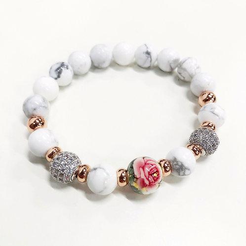 Flower Bracelet (WH)