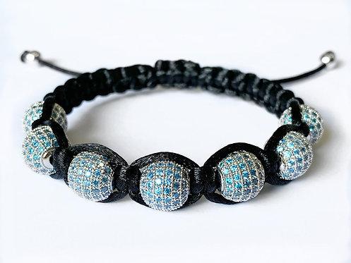 CZ Diamond Bracelet (BBLU)