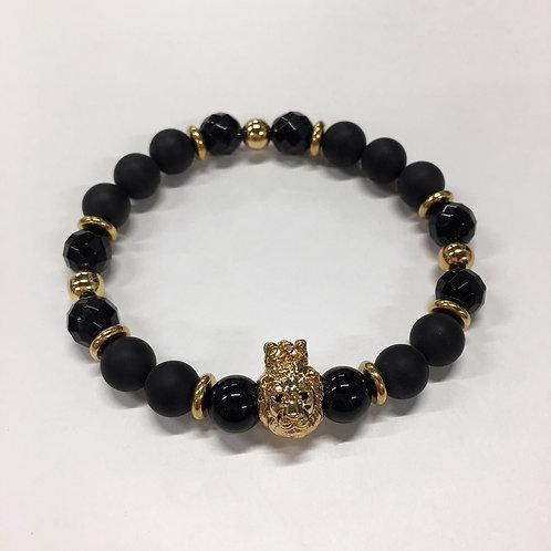 Gold Lion Bracelet (MO/BA/GO)
