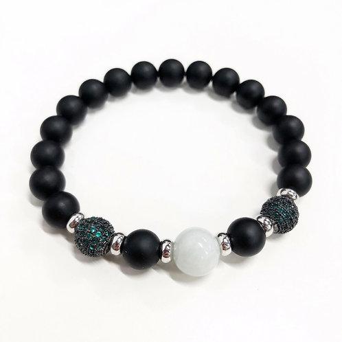 Onyx Jade Bracelet (MO)