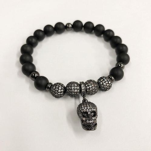 Classic CZ Skeletal Ultimo Bracelet (MO)