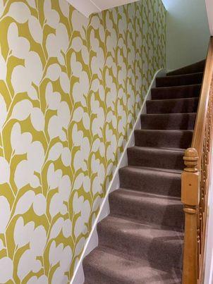 wallpapering flowers.jpg