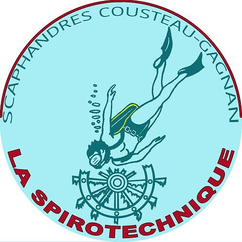 Autocollant logo La  Spirotechnique