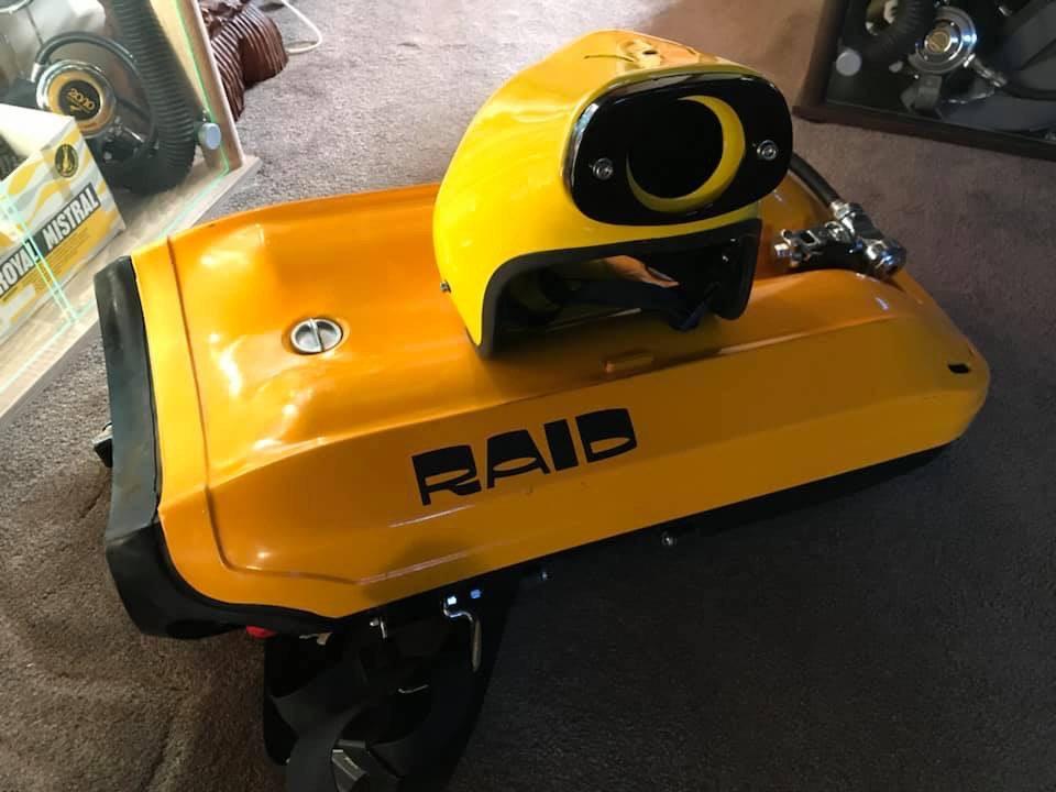 scaphandre hydrodynamique RAID