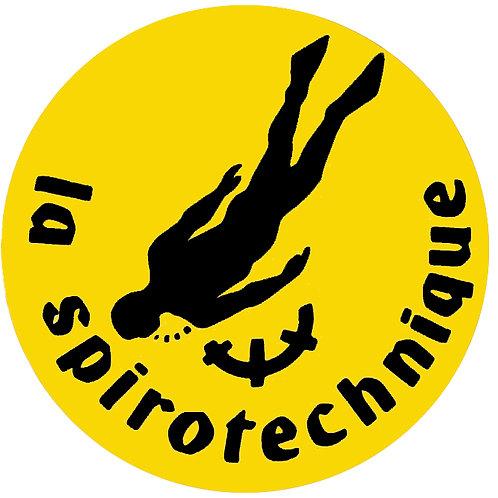 Autocollant de La Spirotechnique années 70 -80