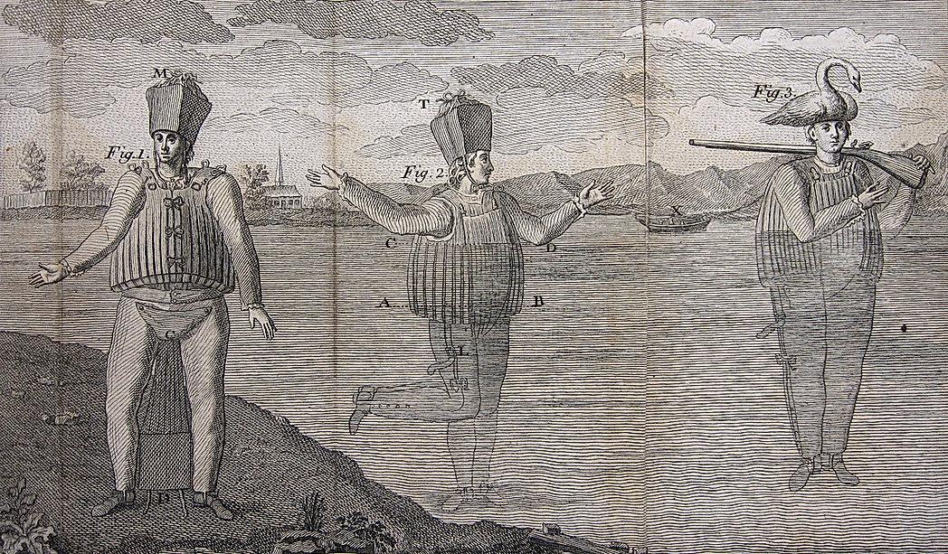 invention du scaphandre de l'abbé de la chapelle.