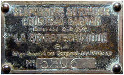 CG45-plaque 5206
