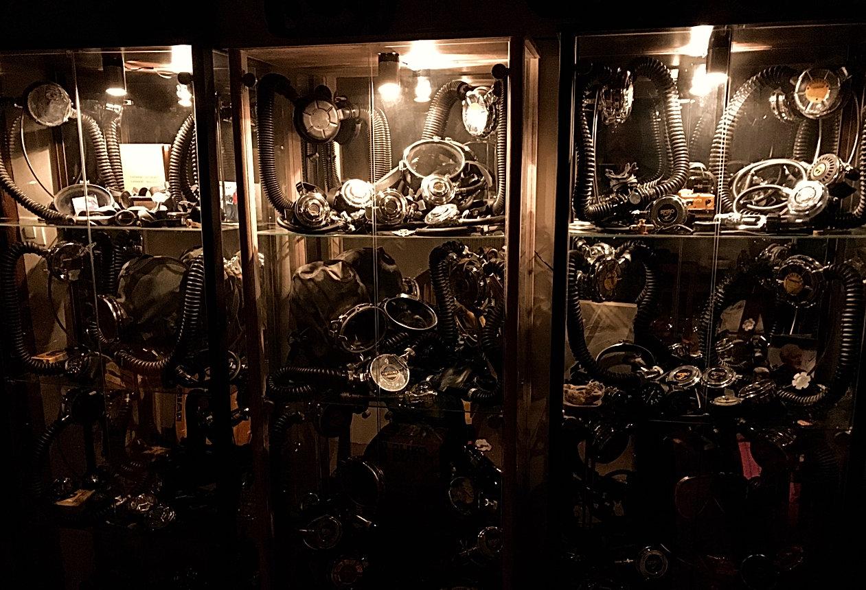 scuba vintage parts