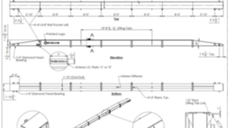 Construction Acess Bridge - Detail