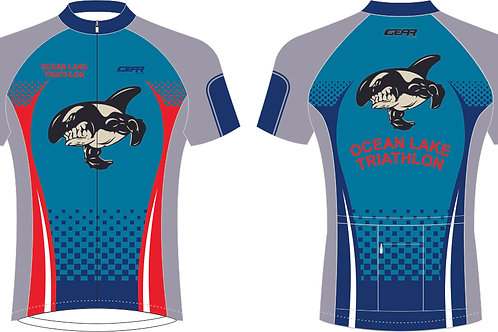 Short Sleeved Cycle Jersey Full Zip