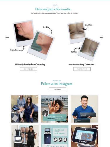 Inmode Homepage