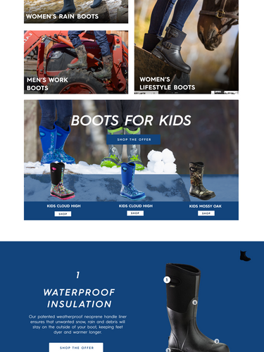 Perfect Stom Homepage