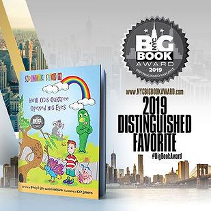 Wendy K Gray wins Favorite for Sidewalk Stories How Otis Oaktree Opened His Eyes