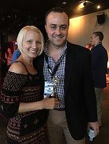 Voice over talent Wendy K Gray and Nate Zeitz