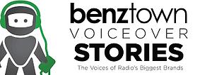 benztown branding behind the mic voice over