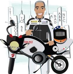 BlowPOPArt - Gus & Ducati Monster 696_ed