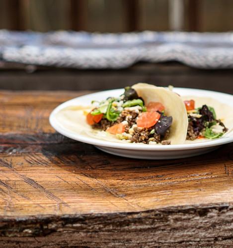 Fresh Organic Taco