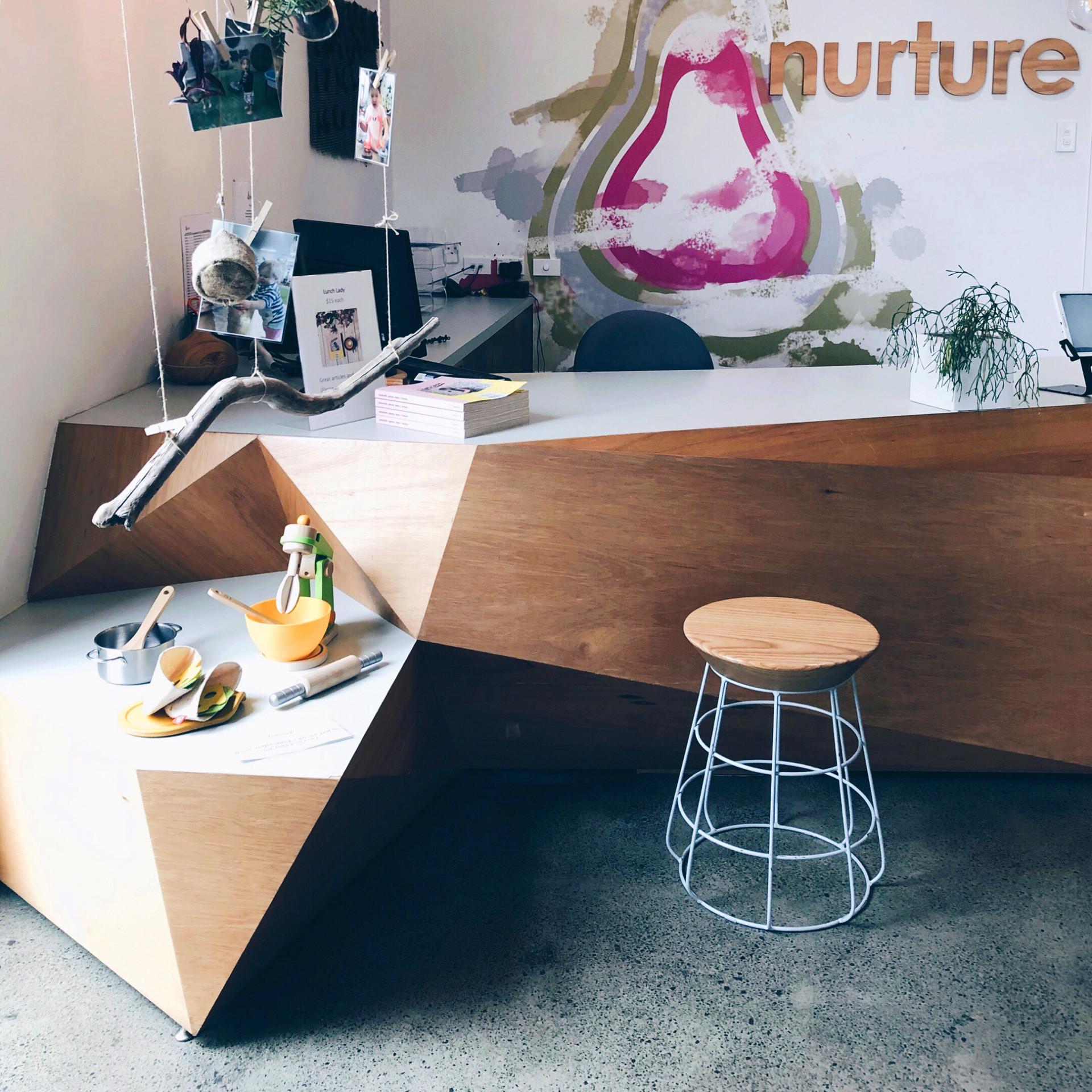 Nurture reception desk