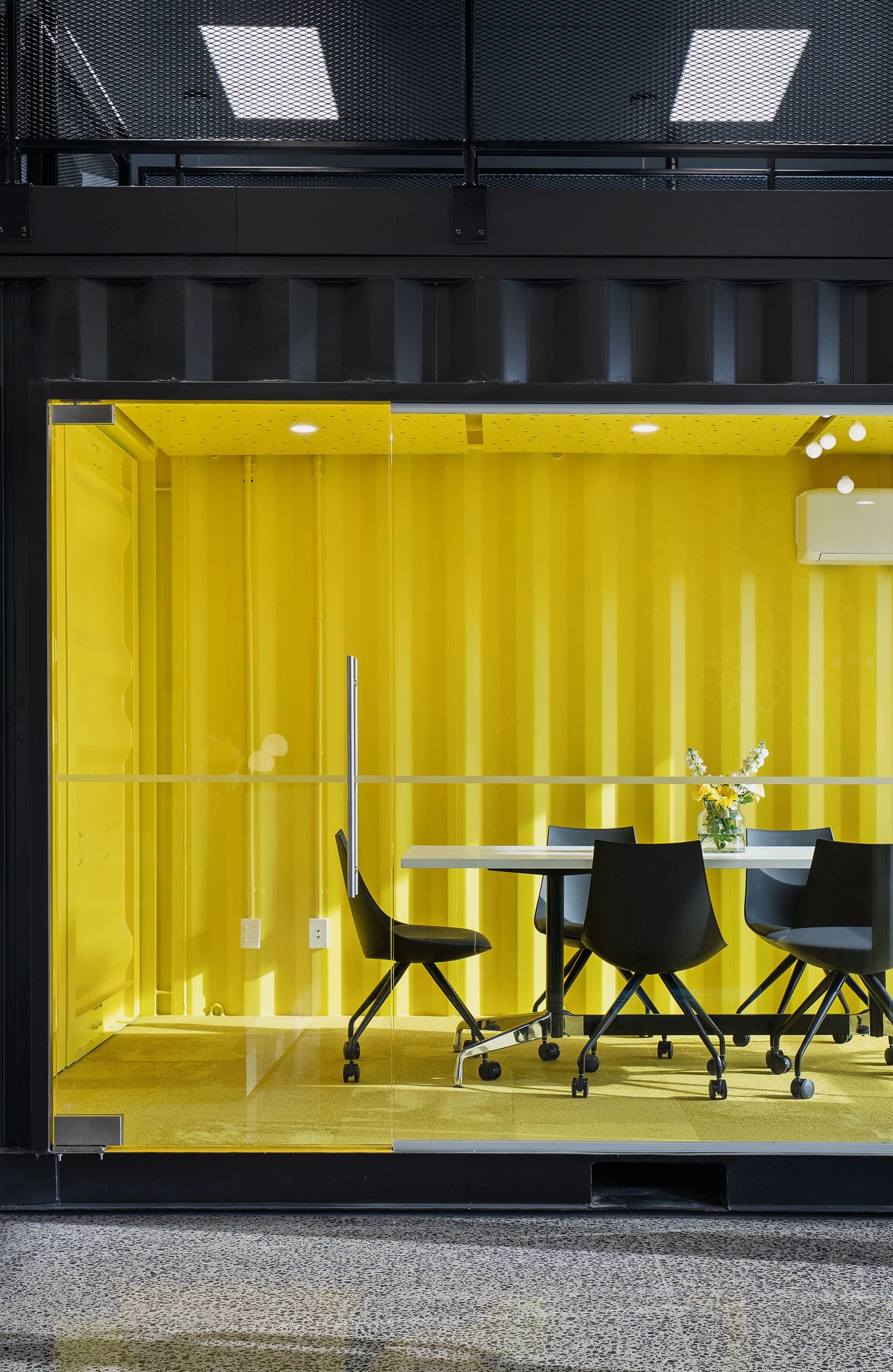 Shipping Container - meeting