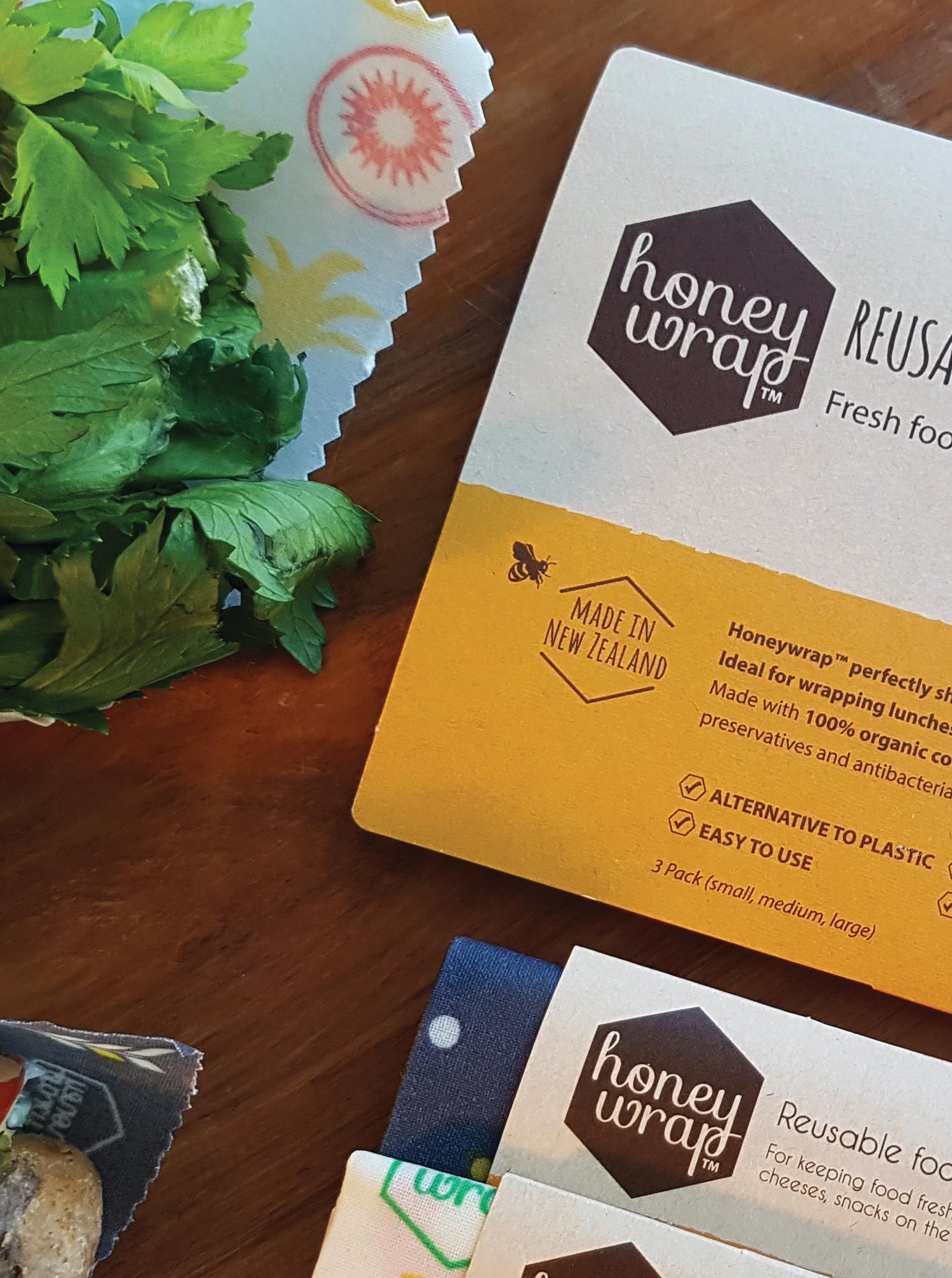 Honeywrap packaging
