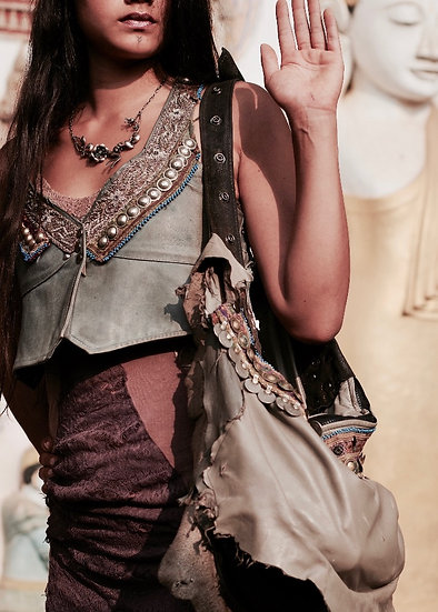 ⋖Tribal Embroidery Vest⋗