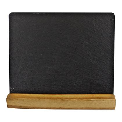 Acacia Wood Slate Menu Board