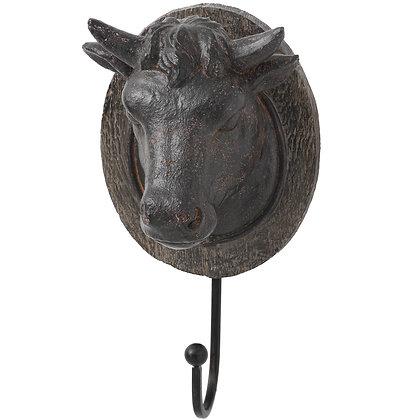 Cow Head Coat Hook