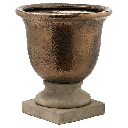 Evi Antique Bronze Large Urn Vase